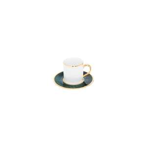Premium Gold | Coffee Cup 9cl Bia + Coffee Saucer 11cm Bia 1