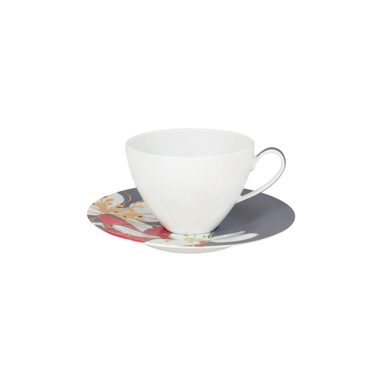 Breakfast Cup 34cl Ballet + Saucer 17cm Ballet 1