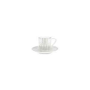 Chávena Café 10cl Coupe + Pires Café 12cm Olympus 0