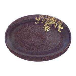Oval Platter 35cm Ballet 1