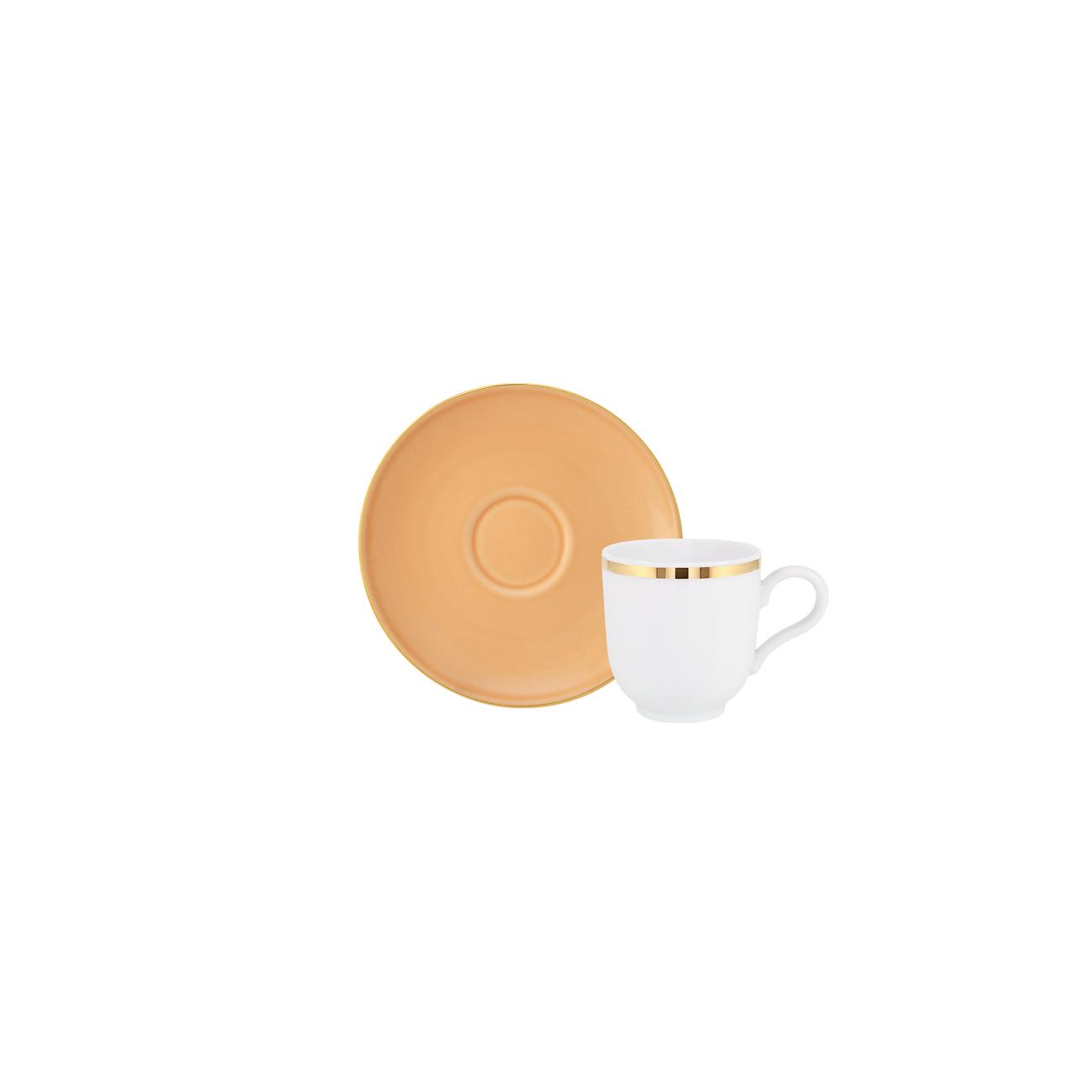 Chávena Café 10cl Antar + Pires Café 12cm Olympus 0