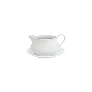 Sauce Boat 54cl Olympus + Sauce Boat Plate 17cm Olympus