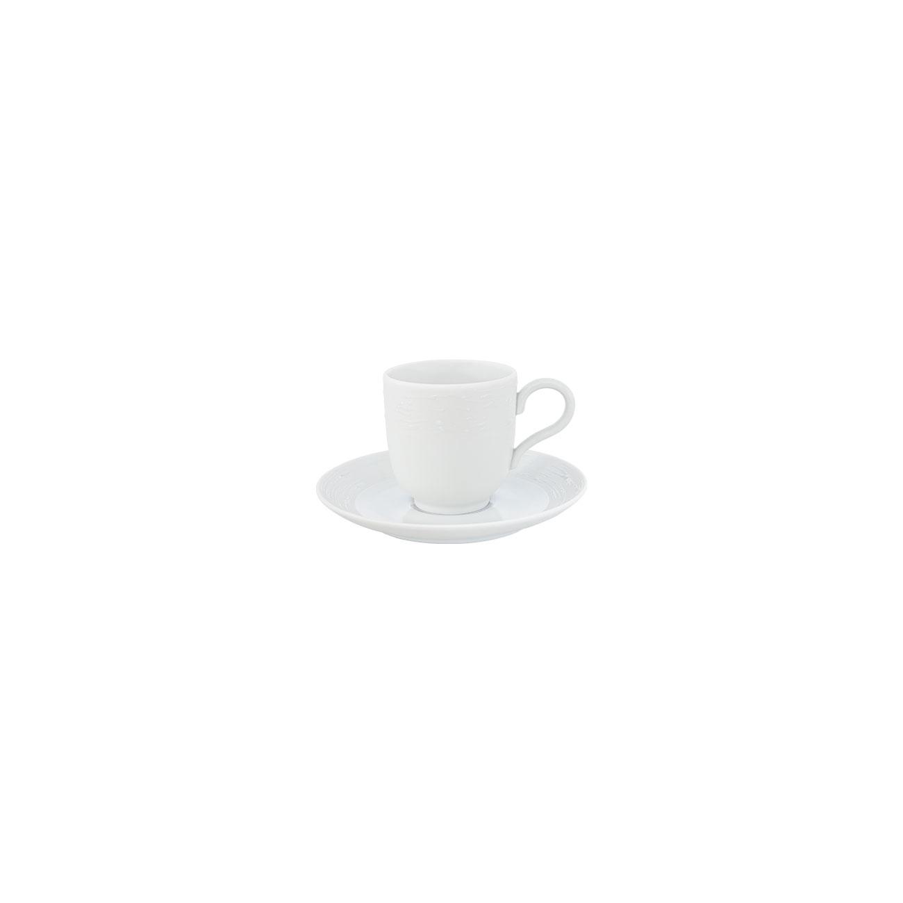 Chávena Café 11cl Antar + Pires Café 12cm Olympus