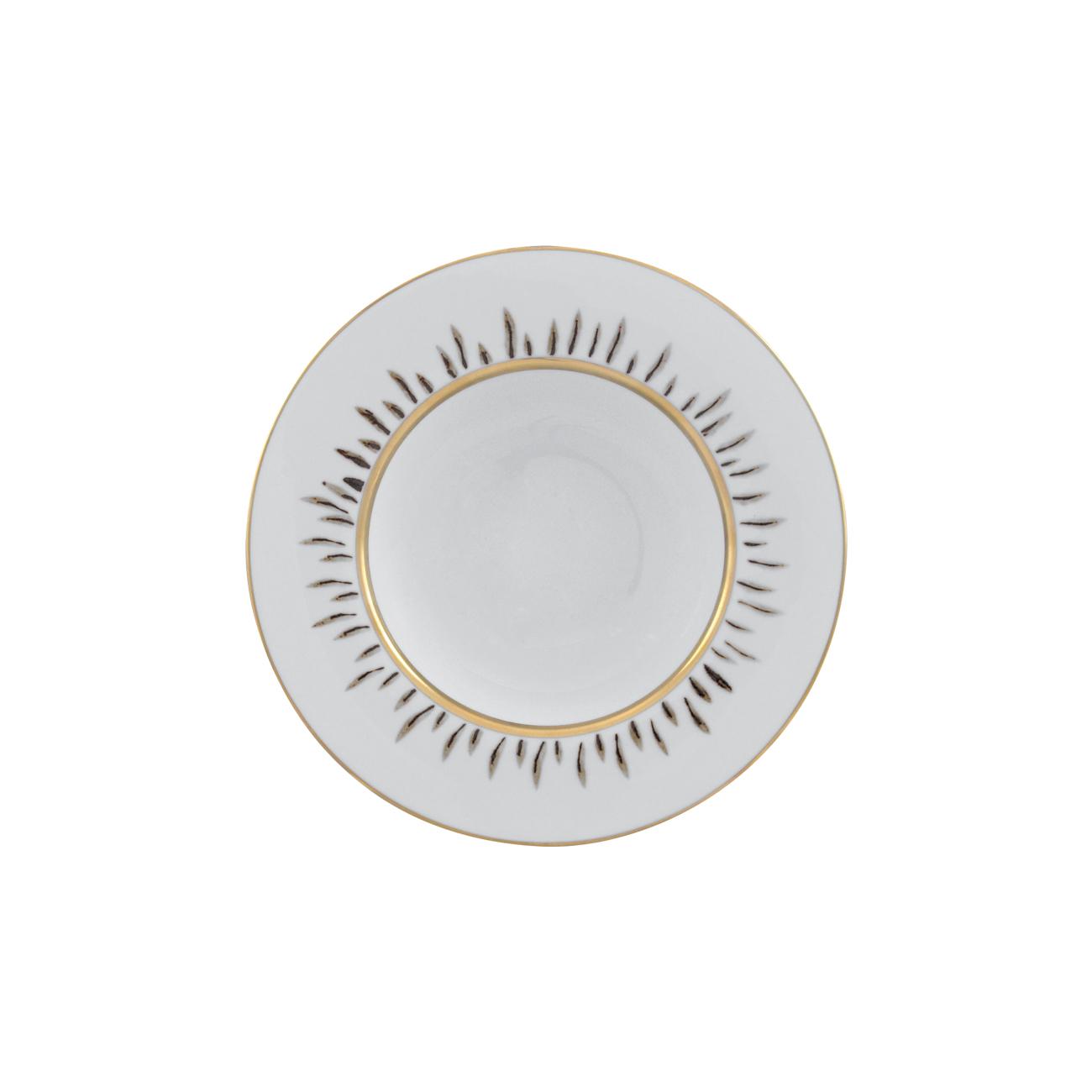 Prato Sopa 22cm Pétala Simples 76052 0608   Ø 22cm; h 4cm 0