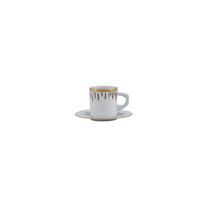 Coffee Cup 9cl New Alma + Coffee Saucer 11cm Bia 1