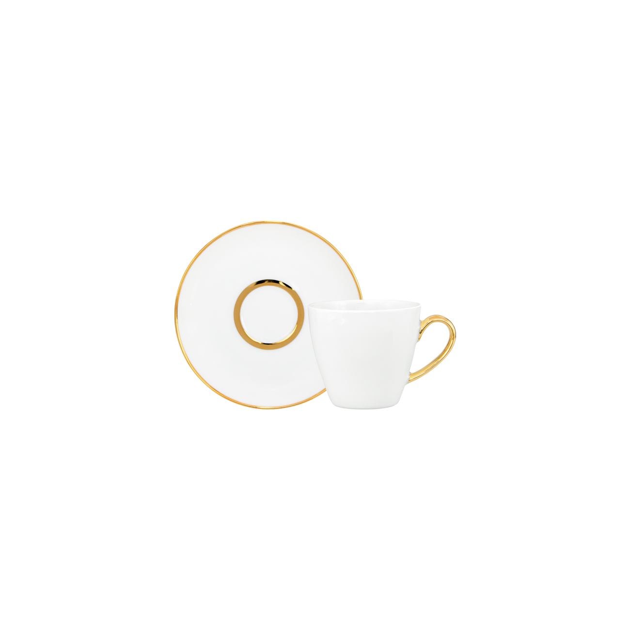 Coffee Cup 10cl Ballet + Coffee Saucer 12cm Olympus 1
