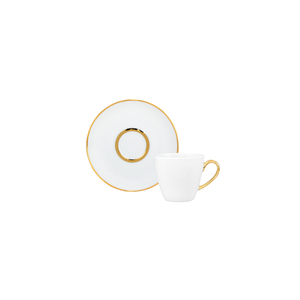 Premium Gold / Pires 12cm Olympus + Chávena Café 10cl Ballet 0