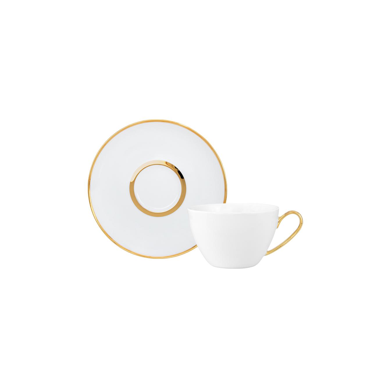 Pires Chá 15cm Olympus + Chávena Chá 23cl NC 0