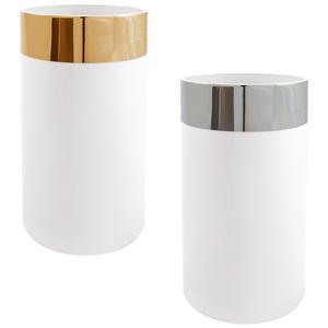 Golden Jarra 30cm Pure Shape + Silver Jarra 30cm Pure Shape 0