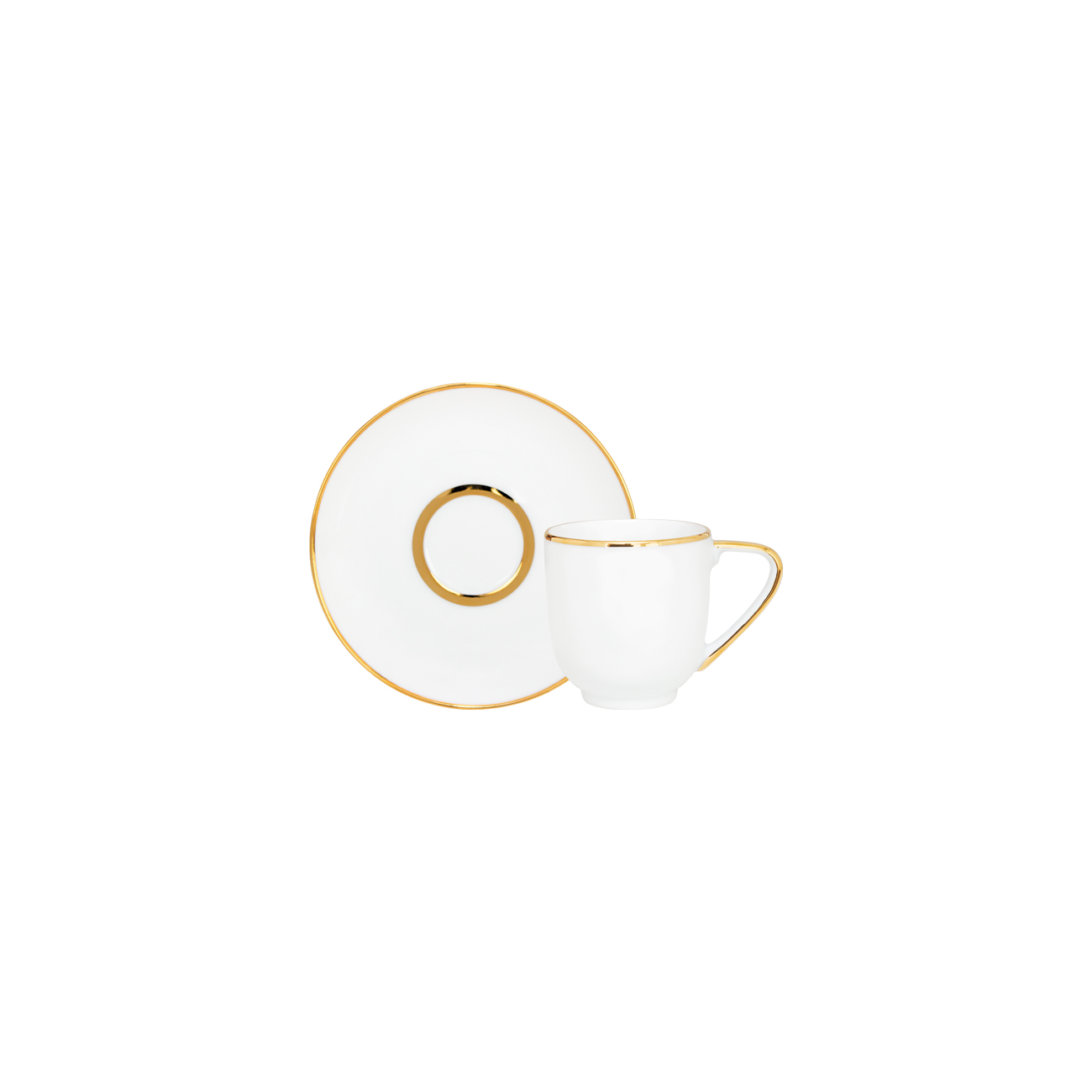 Coffee Saucer 12cm Olympus + Coffee Cup 10cl Coupe 0