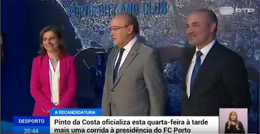 Apoio à recandidatura Pinto da Costa 0