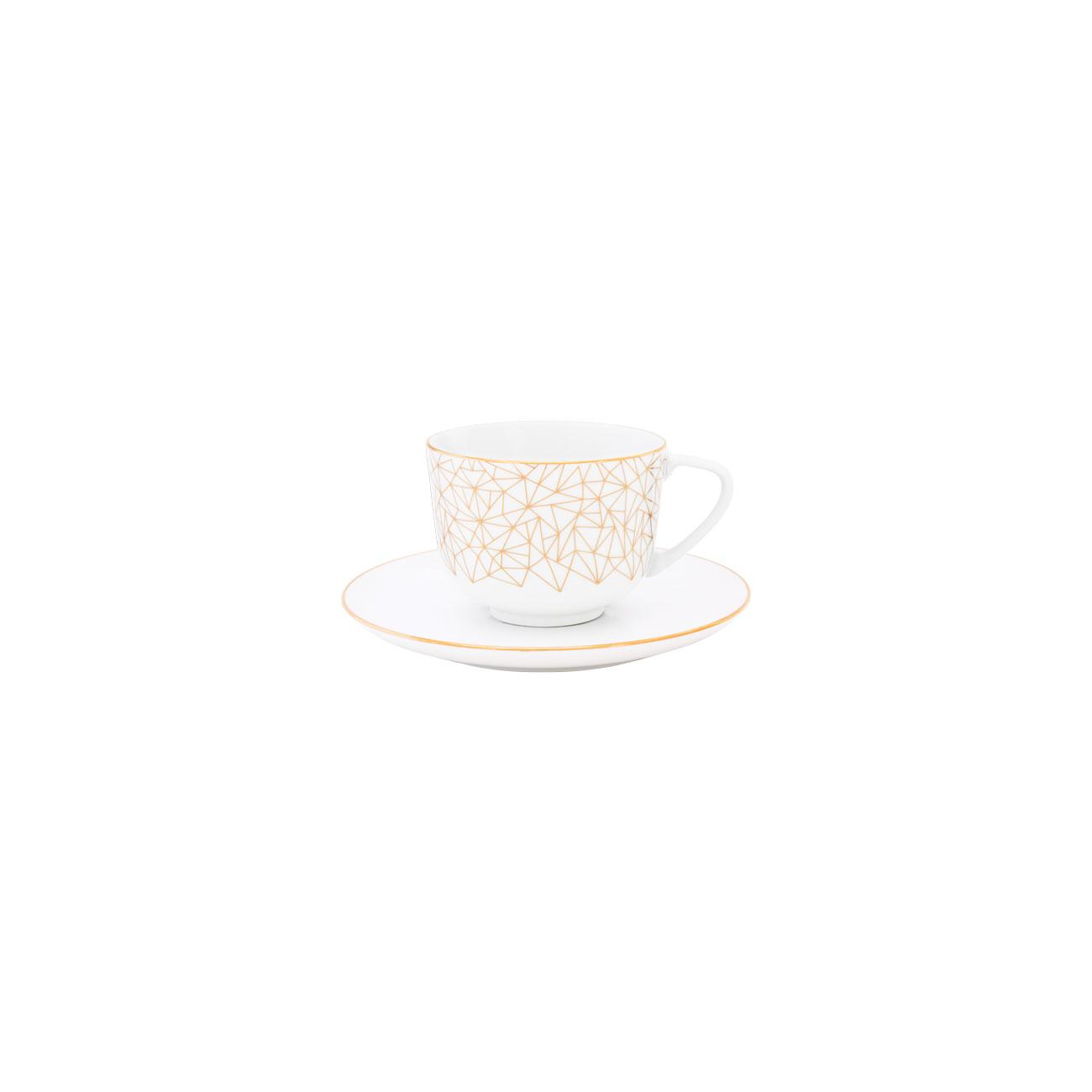 Chávena Chá 28cl Coupe + Pires Chá 15cm Olympus 0