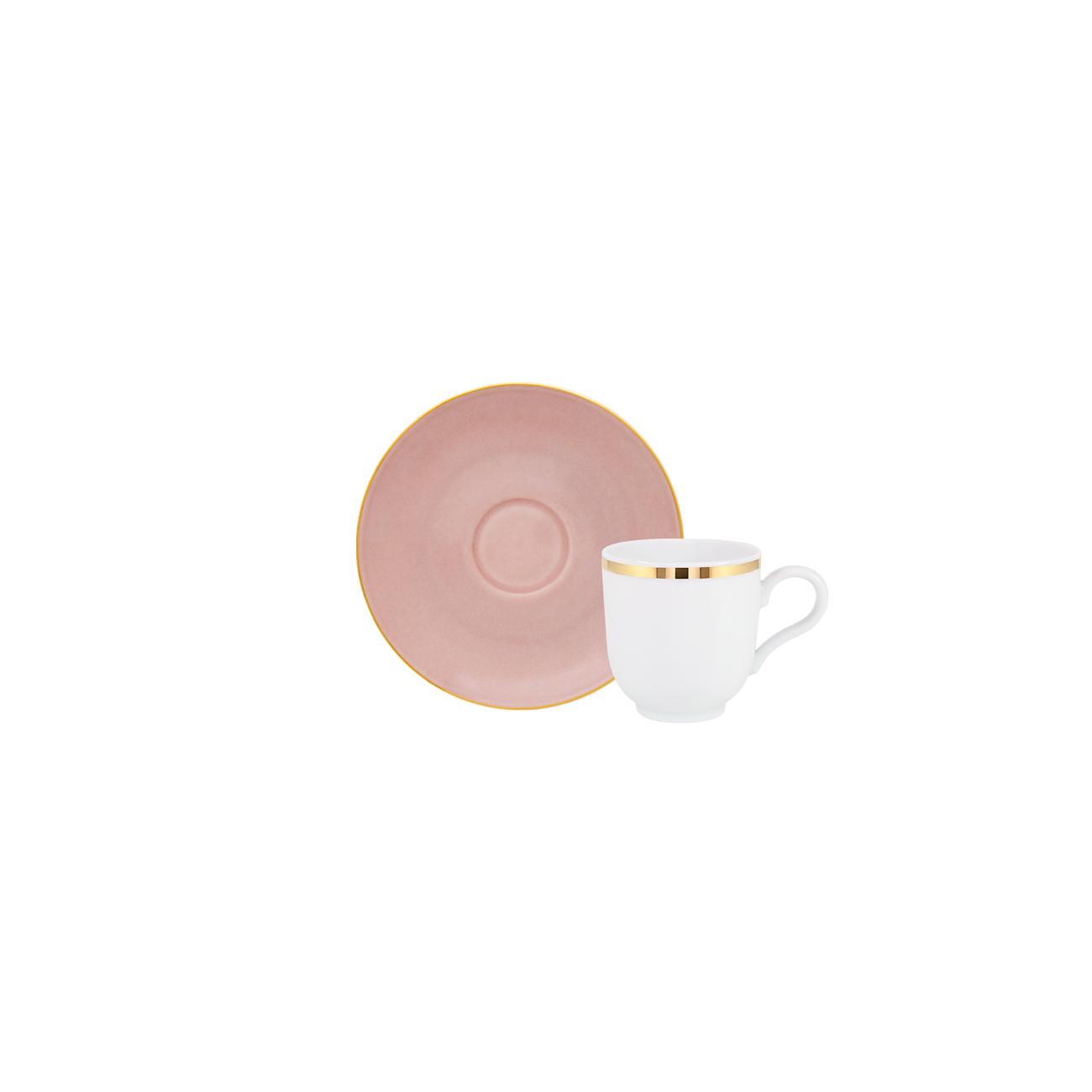 Golden   Chávena Café 10cl Antar + Passion Gold   Pires Café 12cm Olympus 0