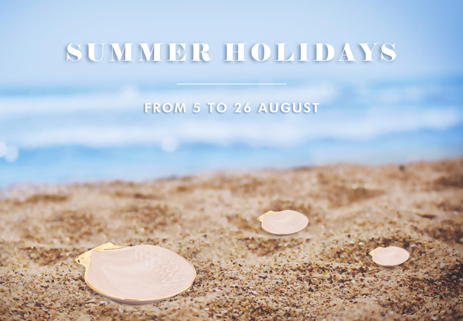 Summer Holidays 2019 2