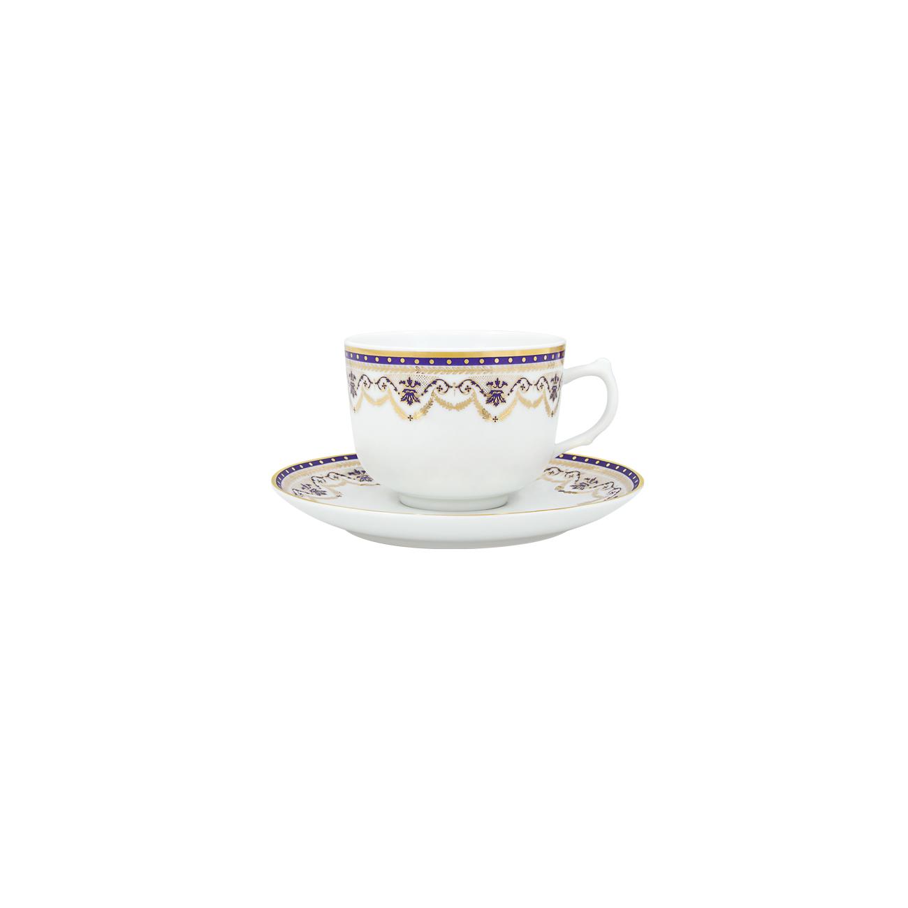 Chávena Chá 28cl Cantão + Pires 15cm Olympus 0