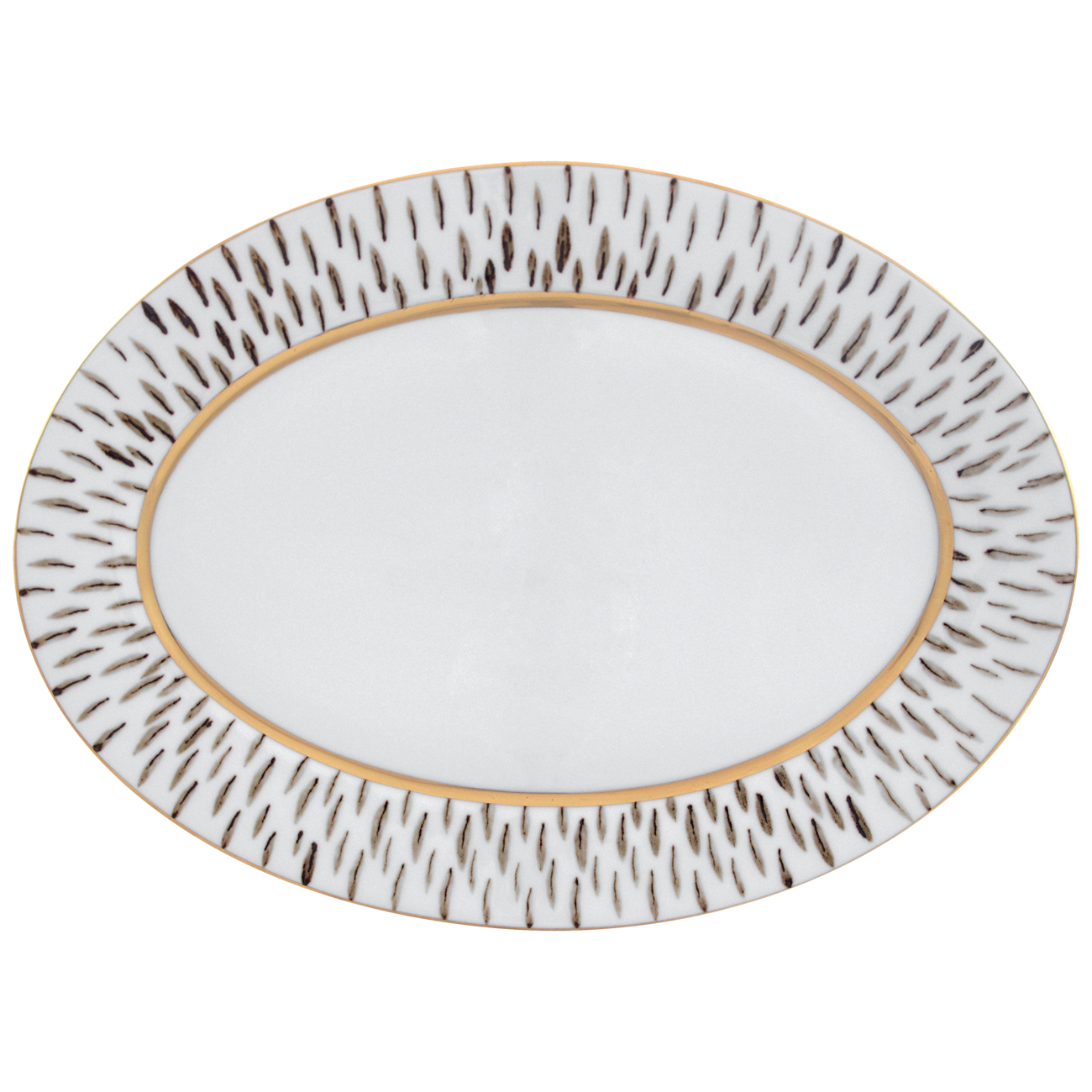 Oval Platter 39cm Myth 1