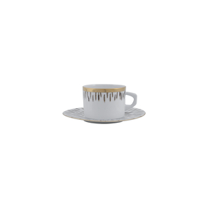 Tea Cup 23cl New Alma + Tea Saucer 16cm Myth 1