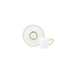 Pires Café 12cm Olympus + Chávena Café 10cl Ballet 0