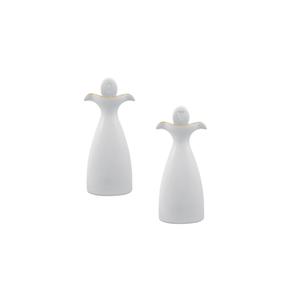 Saleiro 6,5cm Ballet + Pimenteiro 6,5cm Ballet 0