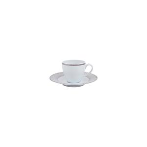 Chávena Café 10cl Ballet Silver + Pires 13cm Ballet 0