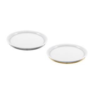 White PT Prato Redondo 31cm + White OB Prato Redondo 31cm 0