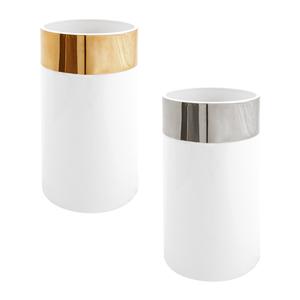 Golden Jarra 25cm Pure Shape + Silver Jarra 25cm Pure Shape 0