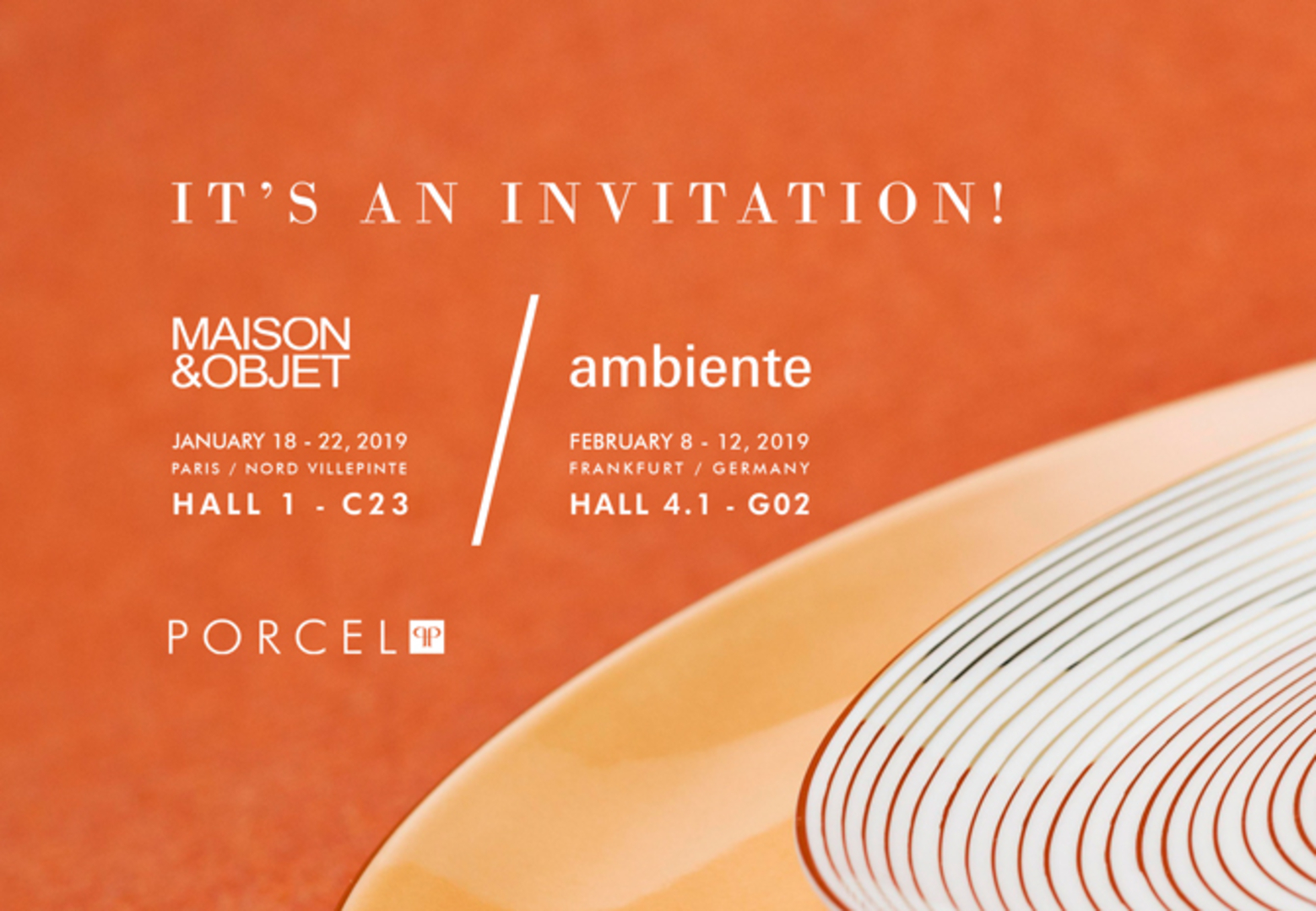 Maison&Objet and Ambiente 1