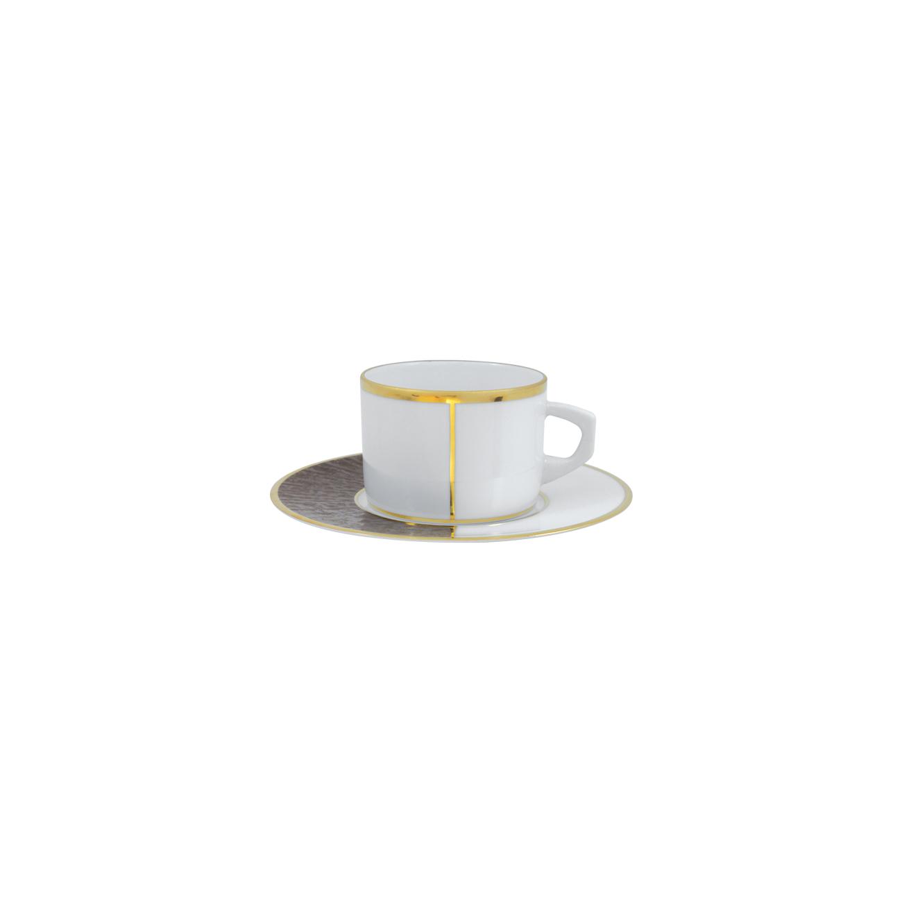 Chávena Chá 23cl New Alma + Pires Chá 16cm Myth 0