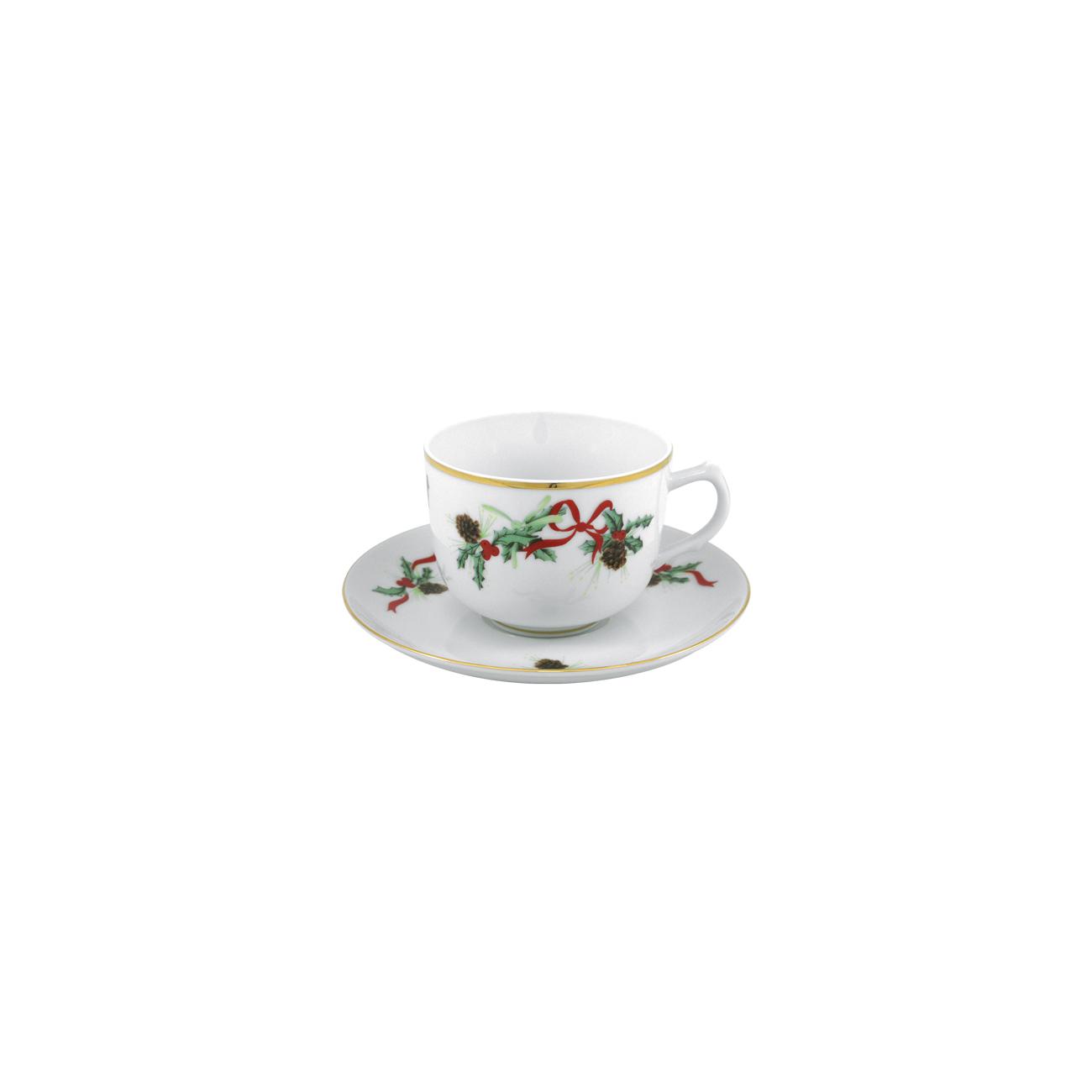 Chávena Chá 28cl Cantão + Pires Chá 15cm Olympus 0
